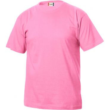 T-SHIRT BASIC-T ROSA ACCESO CLIQUE