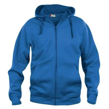FELPA BASIC HOODY FULL ZIP ROYAL